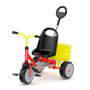 c4d tricycle