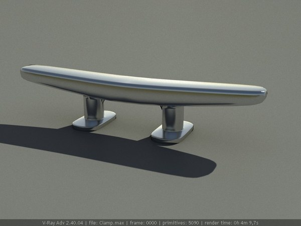 free cleat yachts piers 3d model