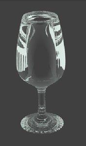 3d model glass cope