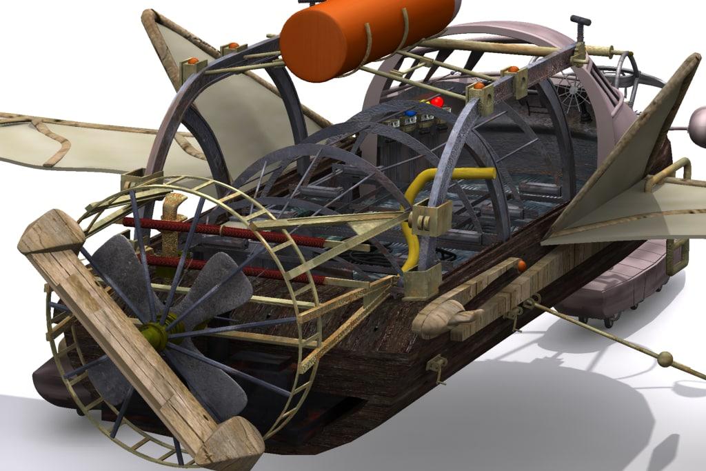 3d model viman