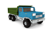 3d model minecraft tipper