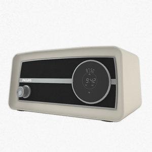 3d model philips radio