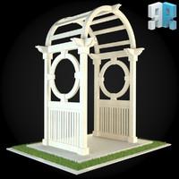3d model architectural modules