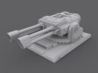 turret 3d max