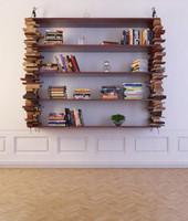 3ds max bookcase 25 bookshelf books