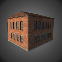 3ds max factory building