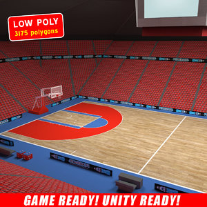 3d model ball arena