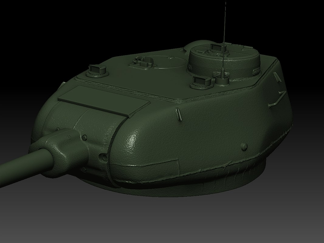 turret t tank wwii 3ds