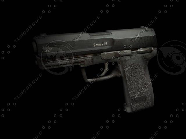 3ds max pistol