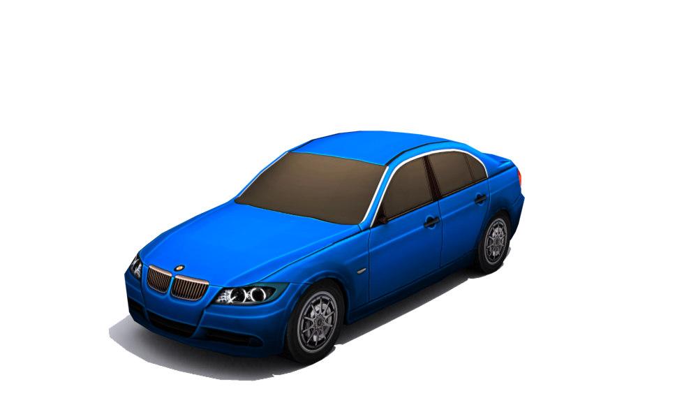 car - set 3d model