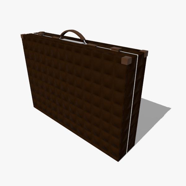 3d briefcase brief case model