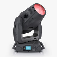 3d model chauvet legend 1200e wash