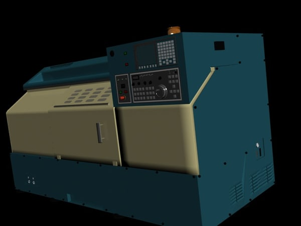 3d model cnc machine makine