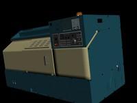 3d model of cnc machine makine