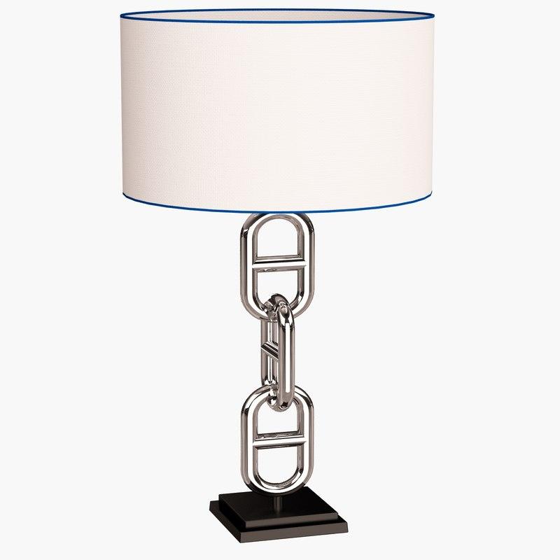 3d model eichholtz lamp table st