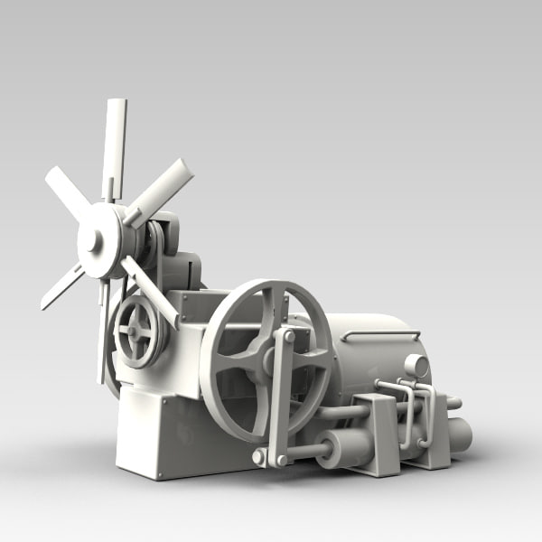 3d engine model