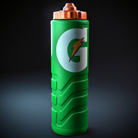 3d gatorade bottle