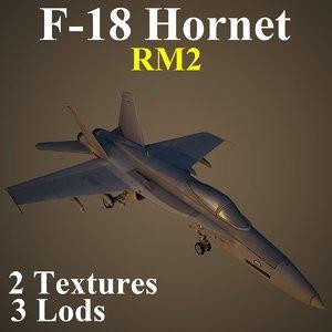 boeing rm2 fighter 3d model