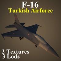 3d general dynamics airforce taf model