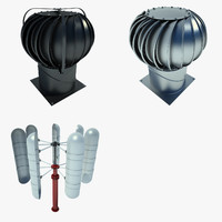 3d model industrial turbine