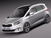 3d 2013 2014 car kia model