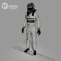 max formula driver nico rosberg