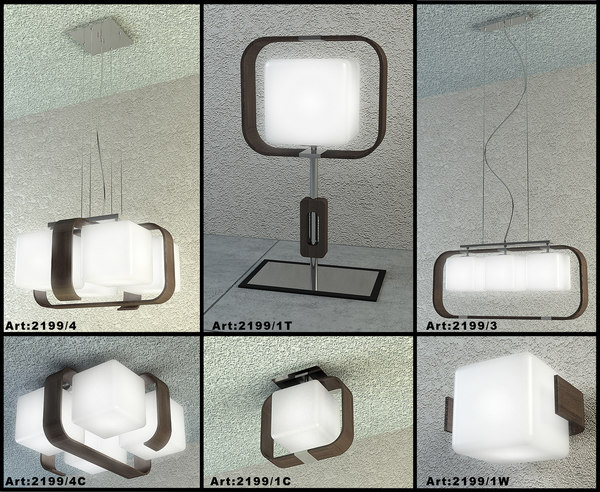 3d odeon table lamp model