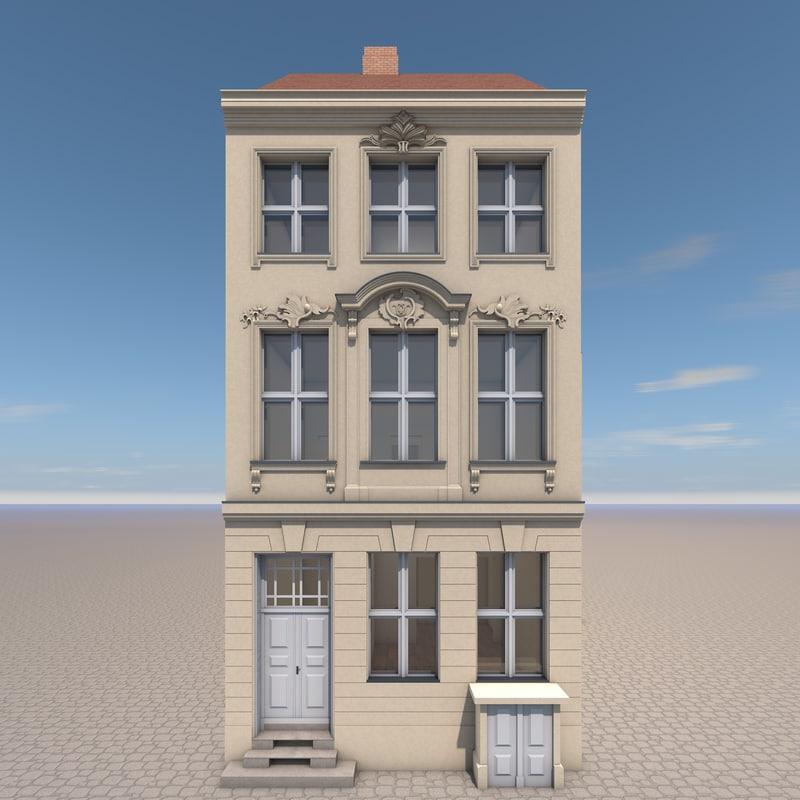building schornsteinfegergasse 7 berlin c4d