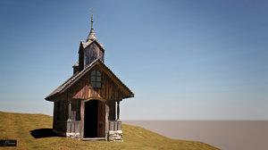small chapel 3d max
