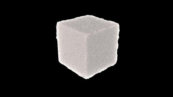 c4d sugar cube