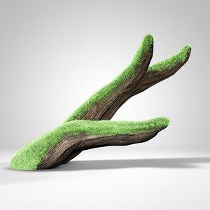 driftwood branch aquarium 3d model