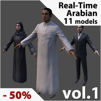 Real-Time Arabic Civilians Collection vol. 1