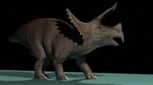 3d model triceratops dinosaur