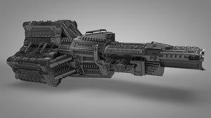 spaceship c4d