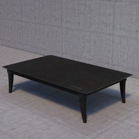 restoration hardware klismos coffee table