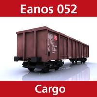 cargo eanos 052 3d model