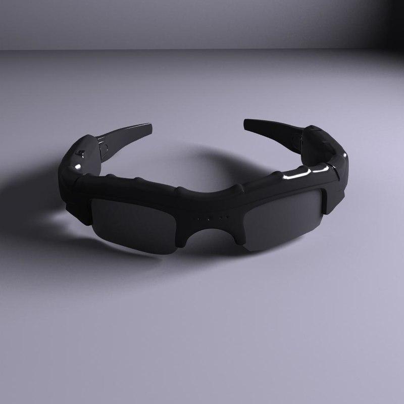 3d model of spy glasses