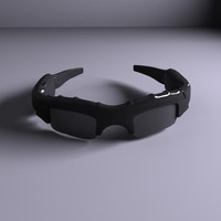 3d model of spy glasses