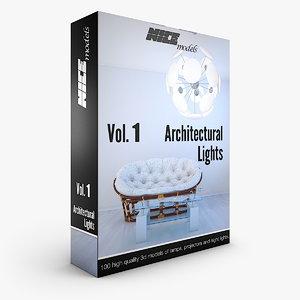 - vol 1 architectural 3d max