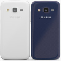 Samsung Galaxy Express 2 White And Blue