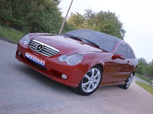 3dsmax c-class sport coupe