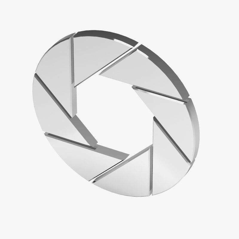 3ds max aperture symbol