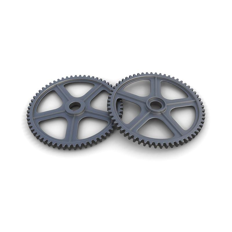 gear 10 steam punk 3d max