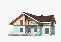 house exterior 3d max