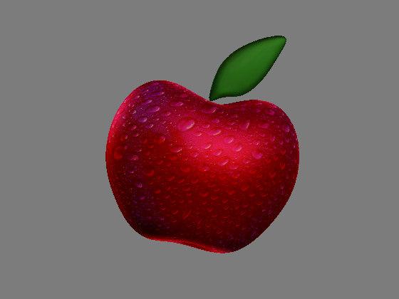 3d apple drops