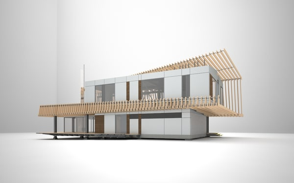 house cottadge 3d model