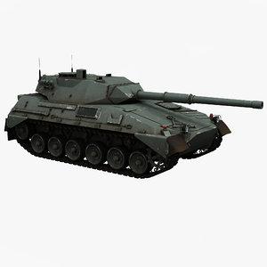 argentine medium tank tam obj