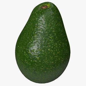 avocado 3d 3ds