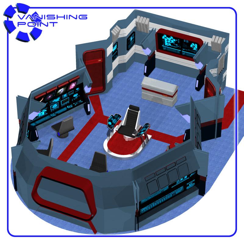 poser starship bridge poser 6