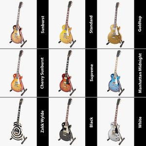 max gibson les paul guitar